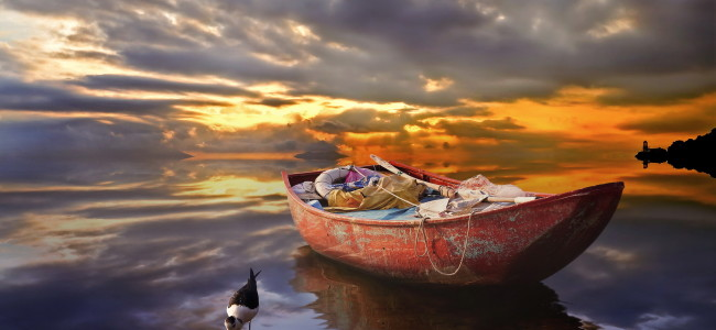 Fisherman-Boat-Wallpaper-for-Android